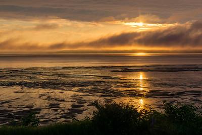 Sunrise, low tide, Avonport-1040746