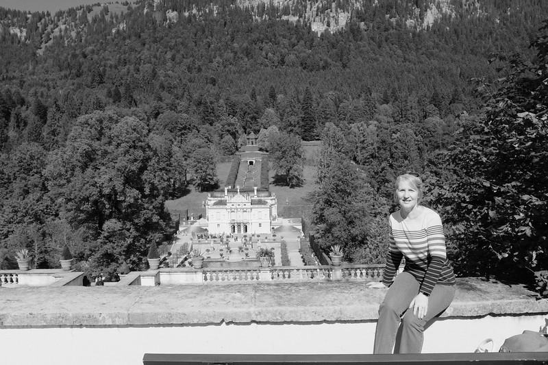 Jane at Linderhof