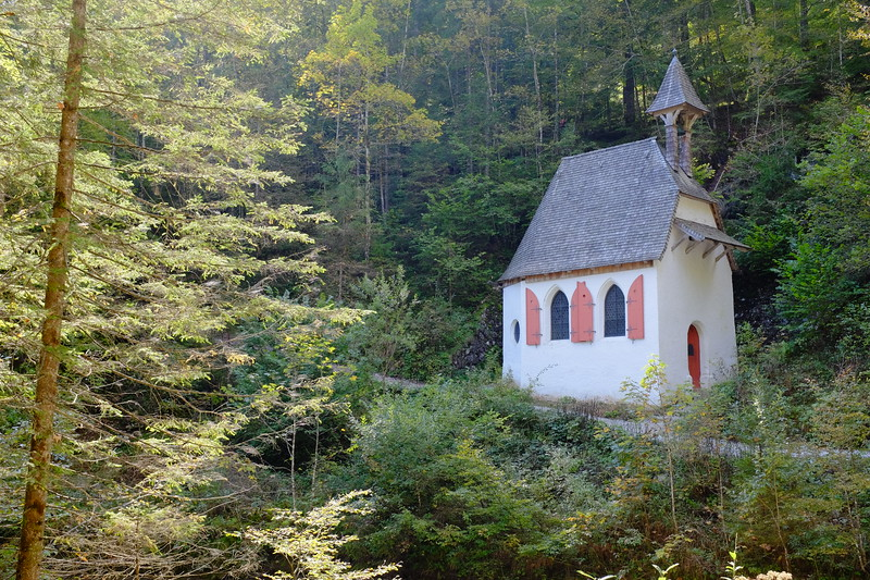 Mountain chapel, Königssee
