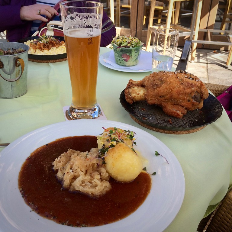 A balanced diet, Oberammergau