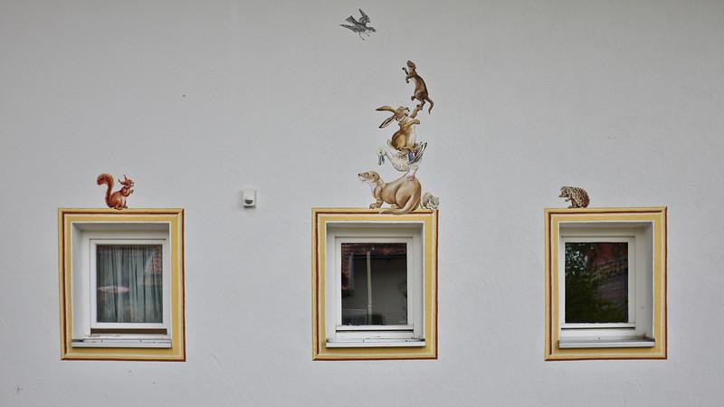 Mural, Oberammergau