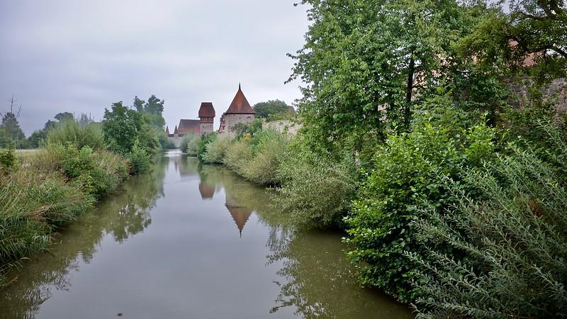 Dinkelsbuhl town walls