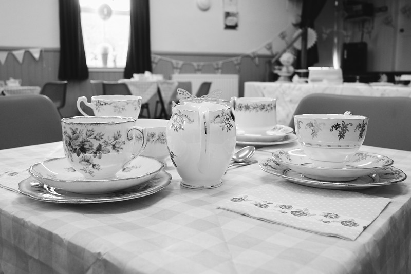 Lynne's tea party