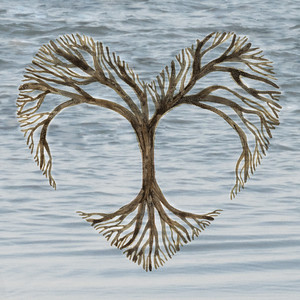 Heart Tree_Layer_Lake_Wave