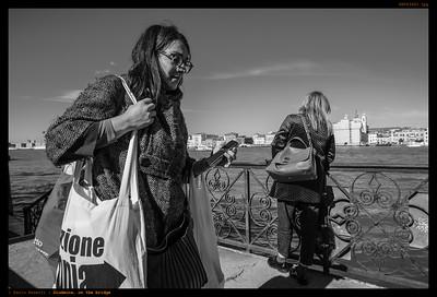 Giudecca, on the bridge