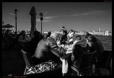 Giudecca, the lunch