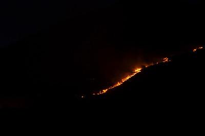Centerville Hillside Fire