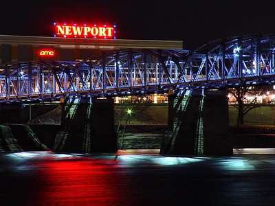Purple people bridge. Newport Kentucky