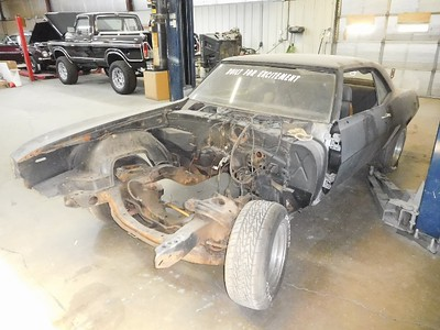 "Tom Crain's 69 Camaro ""The rebuild of Stylo"""