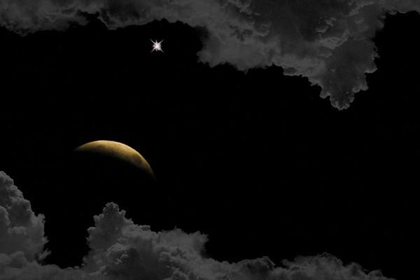 ecliptical eve ...