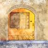 pleasant portico ...