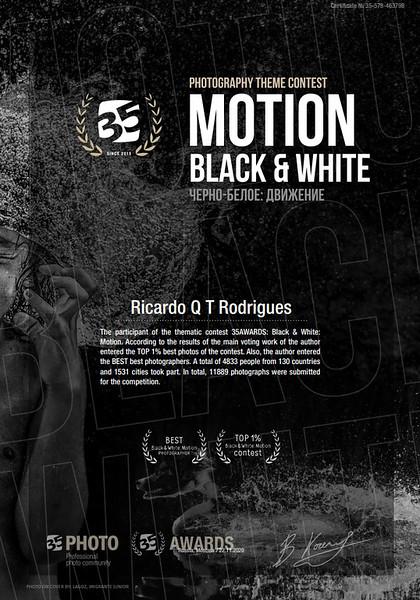 35 Awards Motion Black & White contest 2020