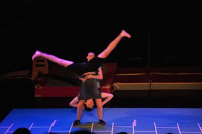Eindvoorstelling circus