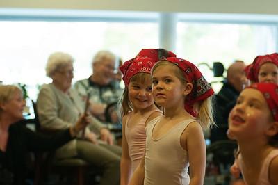 Optreden kleuter- en kinderdans