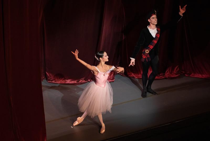 Mathilde Froustey and Joseph Walsh, Scotch Symphony, November 2, 2018