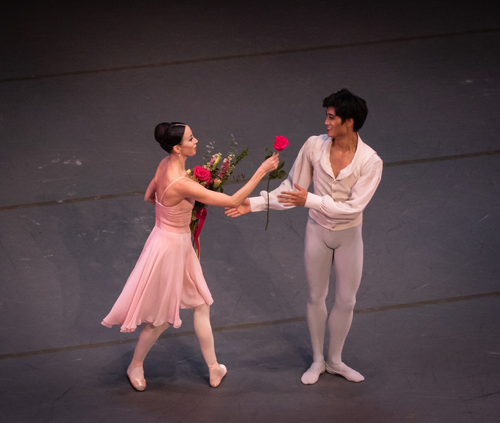 Viktoria Tereshkina and Kimin Kim, Tschaikovsky Pas de Deux, October 31, 2018