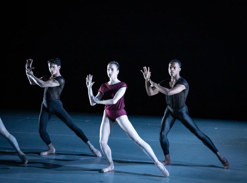 Gwen Vandenhoeck with Pedro Alves and Elye Bailey, Cheshire, Choreography by Lia Cirio