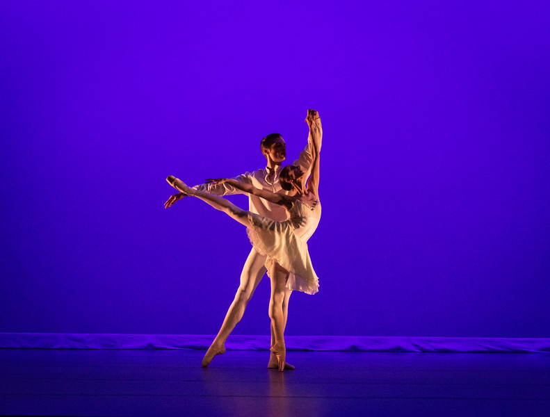 "Isabel Borges and Cameron Catazaro Hayward, ""From A to M"" choreographed by Alan Hineline"