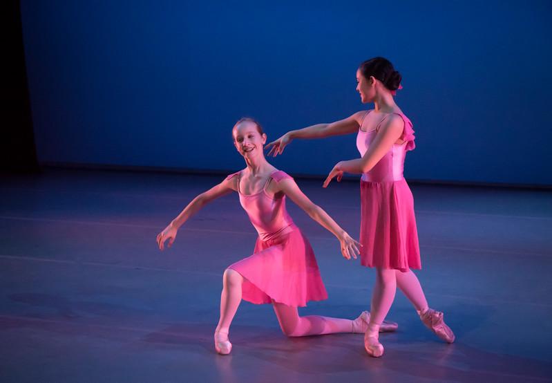 Alexa Malone and Aine Markey, Ballet Academy East WInter Performance, February 22, 2017