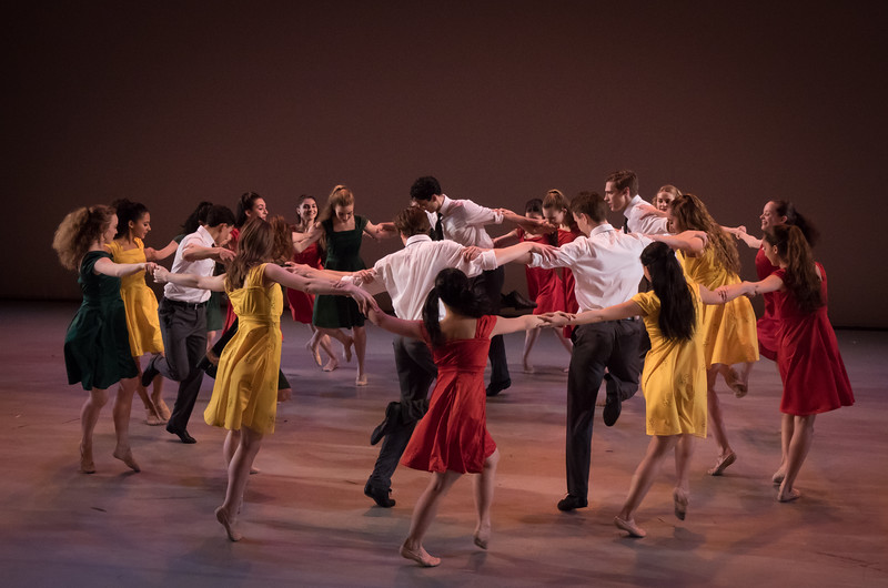 "Cast of ""Dreamers"", Choreographed by Daniel Ulbricht"