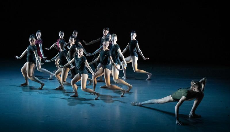 Macy Murray with the corps, Cheshire, Choreography by Lia Cirio