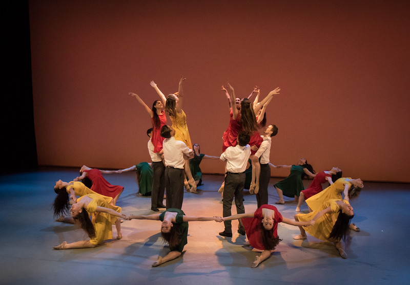 """Cast of """"Dreamers"""", Choreographed by Daniel Ulbricht"""