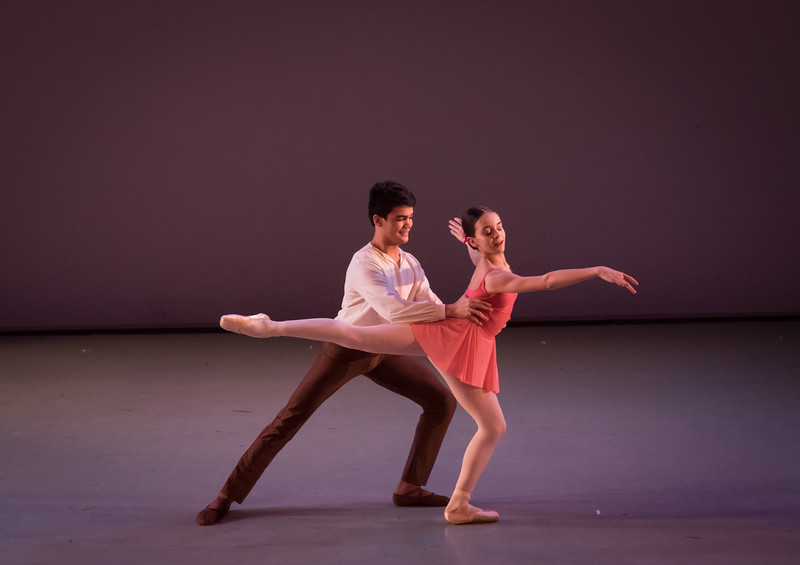 """Claudia Duff and Pedro Alves in """"In Spirit"""", choreographed by Jenna Lavin"""