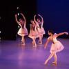 Front: Lydia Han, Back: Julia Isaacman, Itzkan Barbosa, Emma Braunberger, Mozart's Little Nothings, Ballet Academy East, February 2016