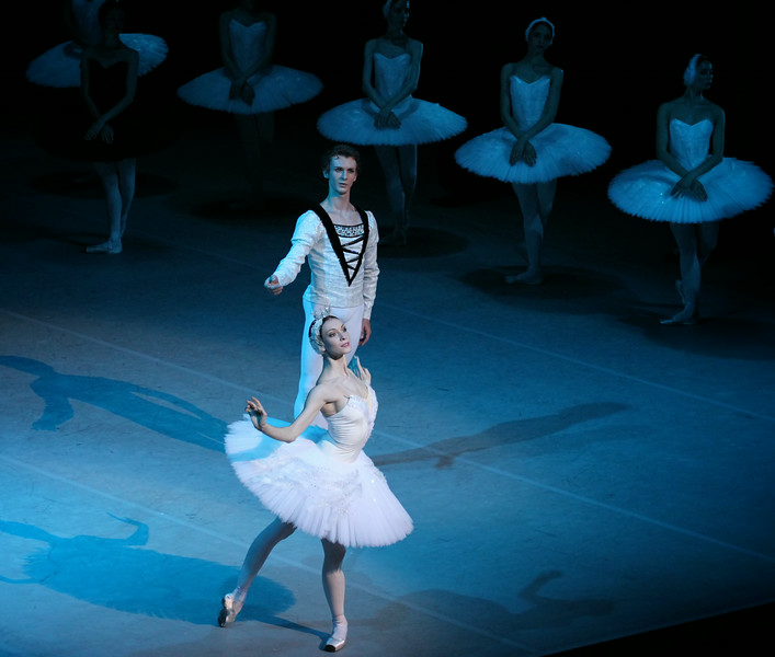 Olga Smirnova and Semyon Chudin, The Bolshoi Ballet, Swan Lake, July 18, 2014