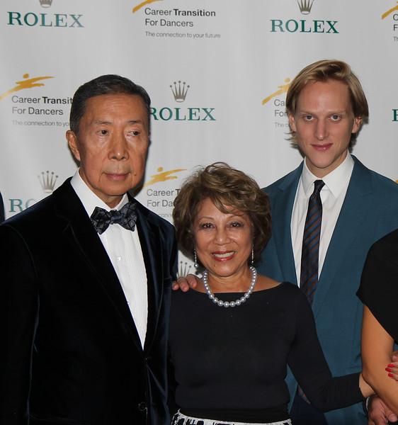 Fred and Irene Shen, David Hallberg, Career Transition for Dancers Gala, September 28, 2015