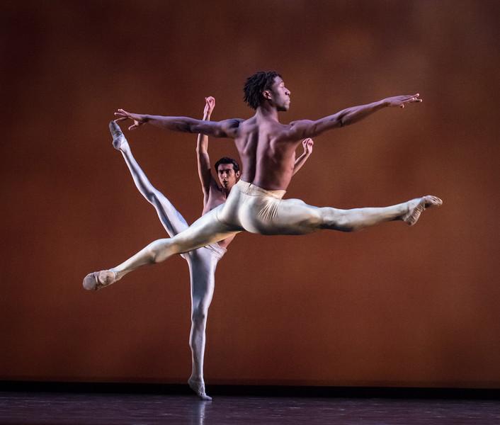 Jorge Andrés Villarini and Va 'Von Doane, Dialogues, Dance Theatre of Harlem, April 21, 2017
