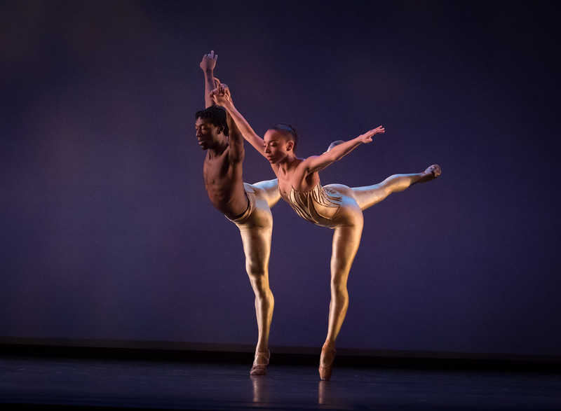 Stephanie Ray Williams and Da' Von Doane,  Dialogues, Dance Theatre of Harlem, April 21, 2017