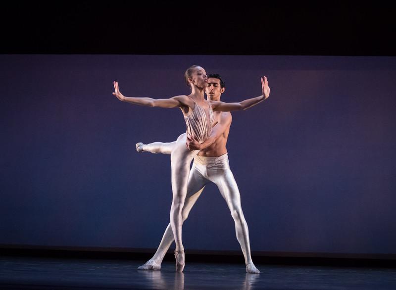 Chyrstyn Fentroy and Jorge Andrés Villarini,  Dialogues, Dance Theatre of Harlem, April 21, 2017