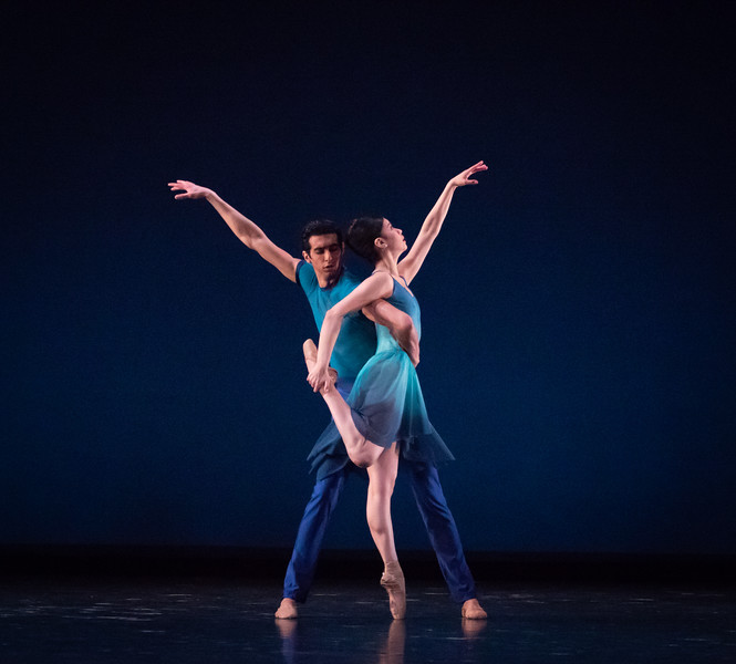 Crystal Serrano and Jorge Andrés-Villarini, This Bitter Earth, Dance Theatre of Harlem, April 6, 2018