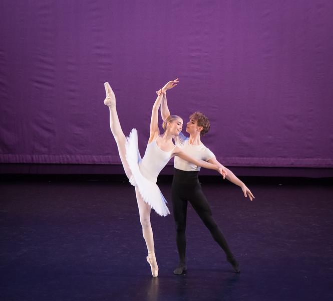 Lola Crist and Michael Paradiso, Rose Adagio