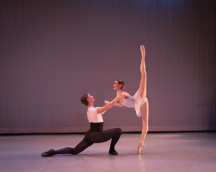 Vilhelm Bjerser and Sarah Scandrett, Ellison Ballet, December 16, 2016
