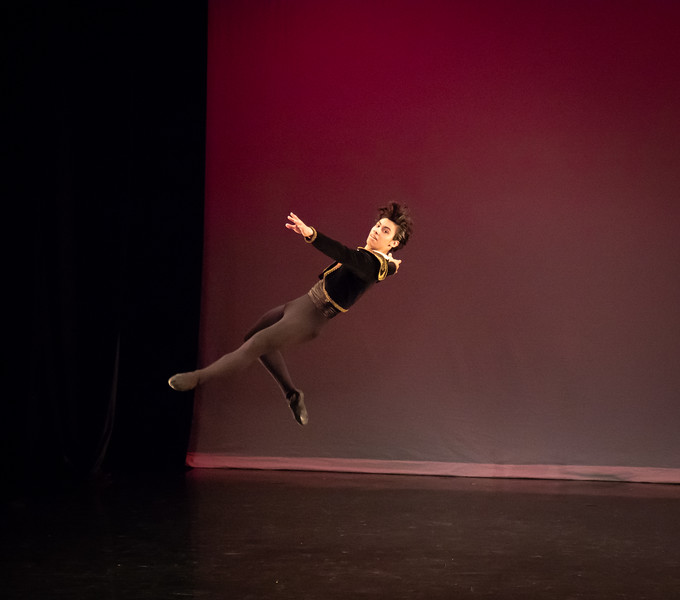 Agustin Pereyra, Ellison Ballet, May 18, 2018