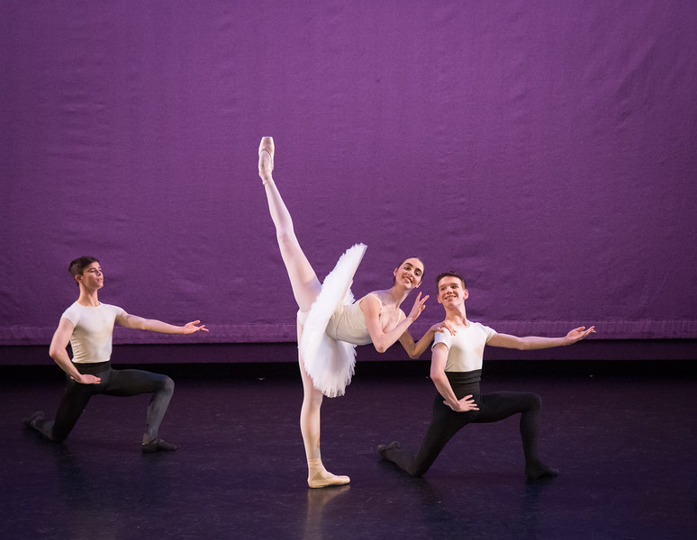 Mitchell Tobin, Ailysh Healy and Leopoid Foster, Rose Adagio