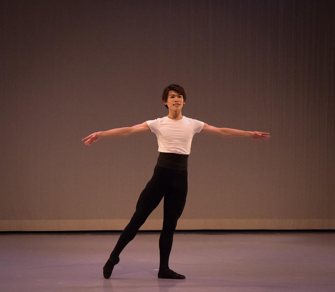 Taro Kurachi, Ellison Ballet, December 16, 2016