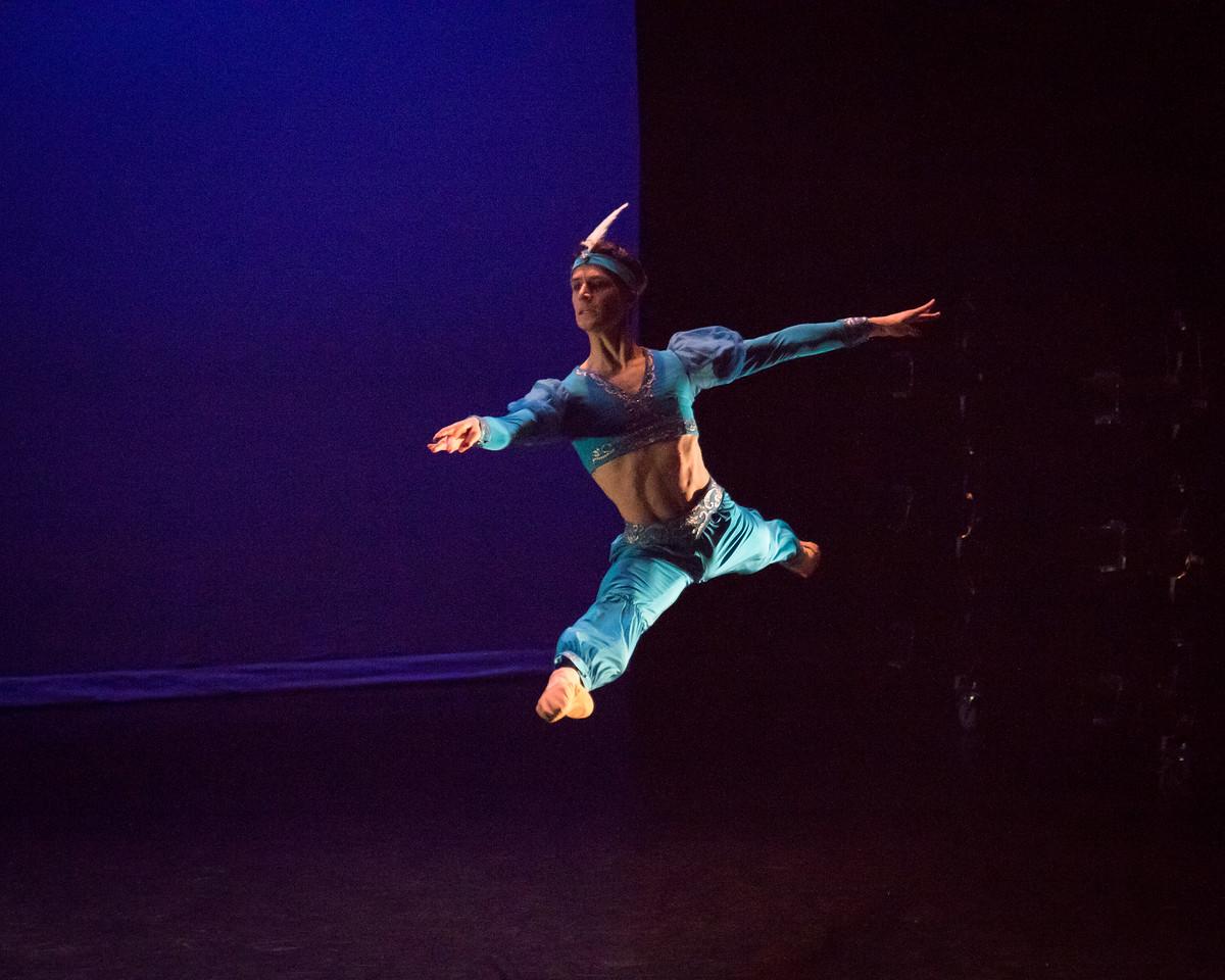 August Atahu Generalli, La Bayadere, Ellison Ballet, May 19, 2017