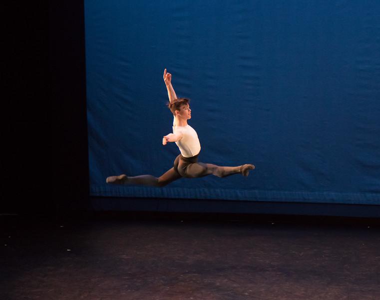 Mitchell Tobin, Grand Pas Classique, Ellison Ballet, December 15, 2017