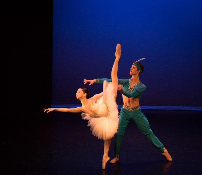 Gloria Benaglia and August Atahu Generalli, La Bayadere, Ellison Ballet, May 19, 2017