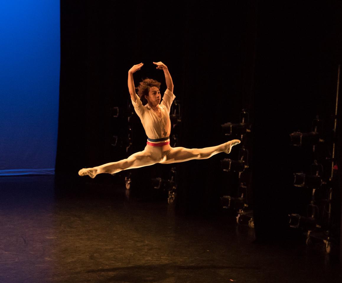 Takaomi Yoshino, Flames of Paris, Ellison Ballet, May 19, 2017
