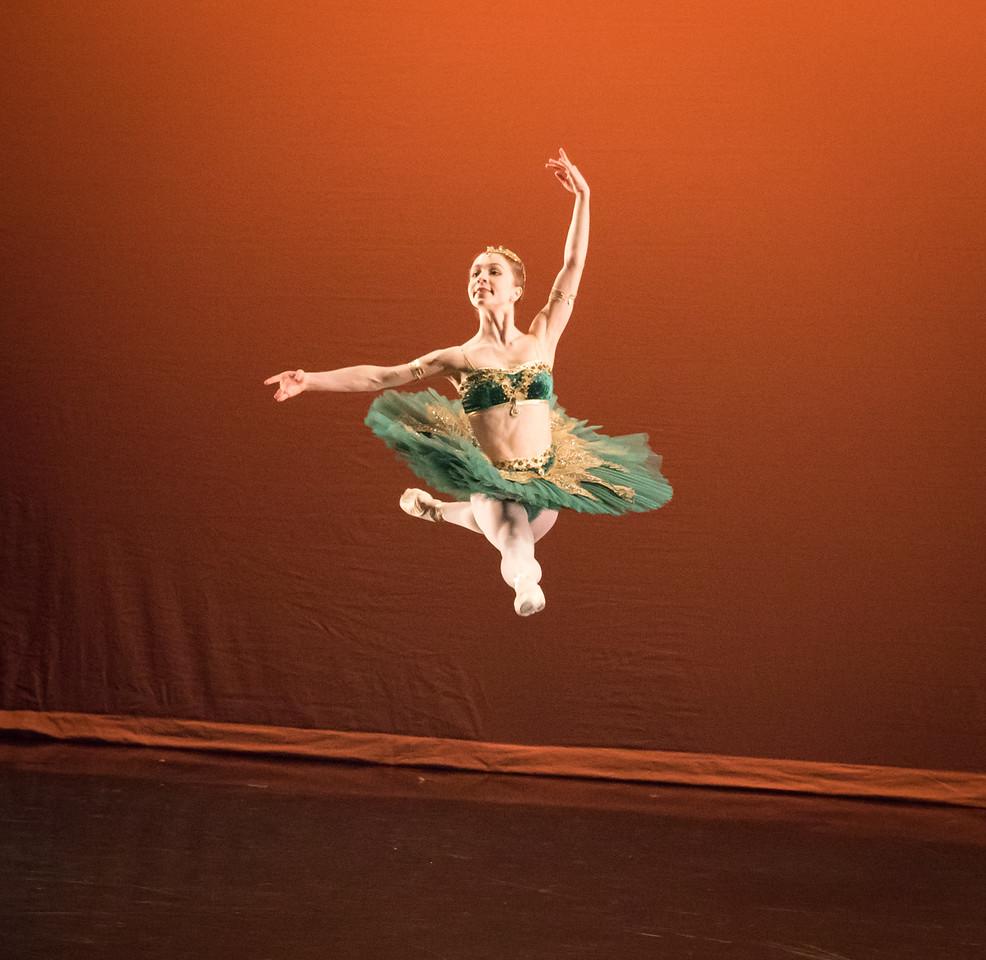 Brianna Crockett, Le Corsaire, Ellison Ballet, May 20, 2016