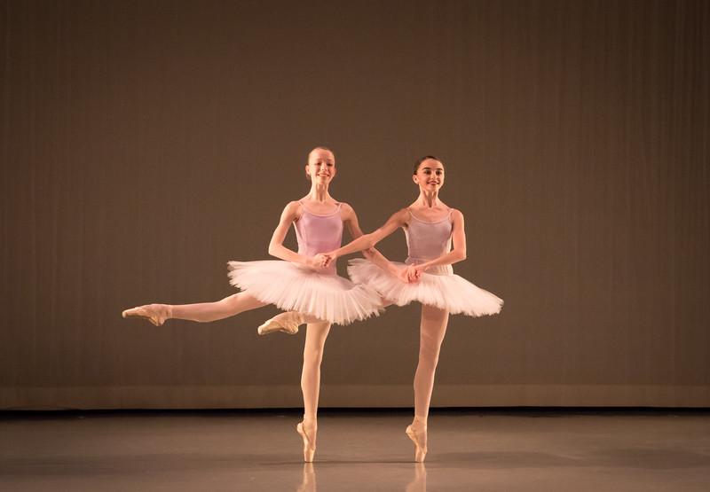 Elisabeth Beyer and Viola Pantuso, Ellison Ballet, December 16, 2016