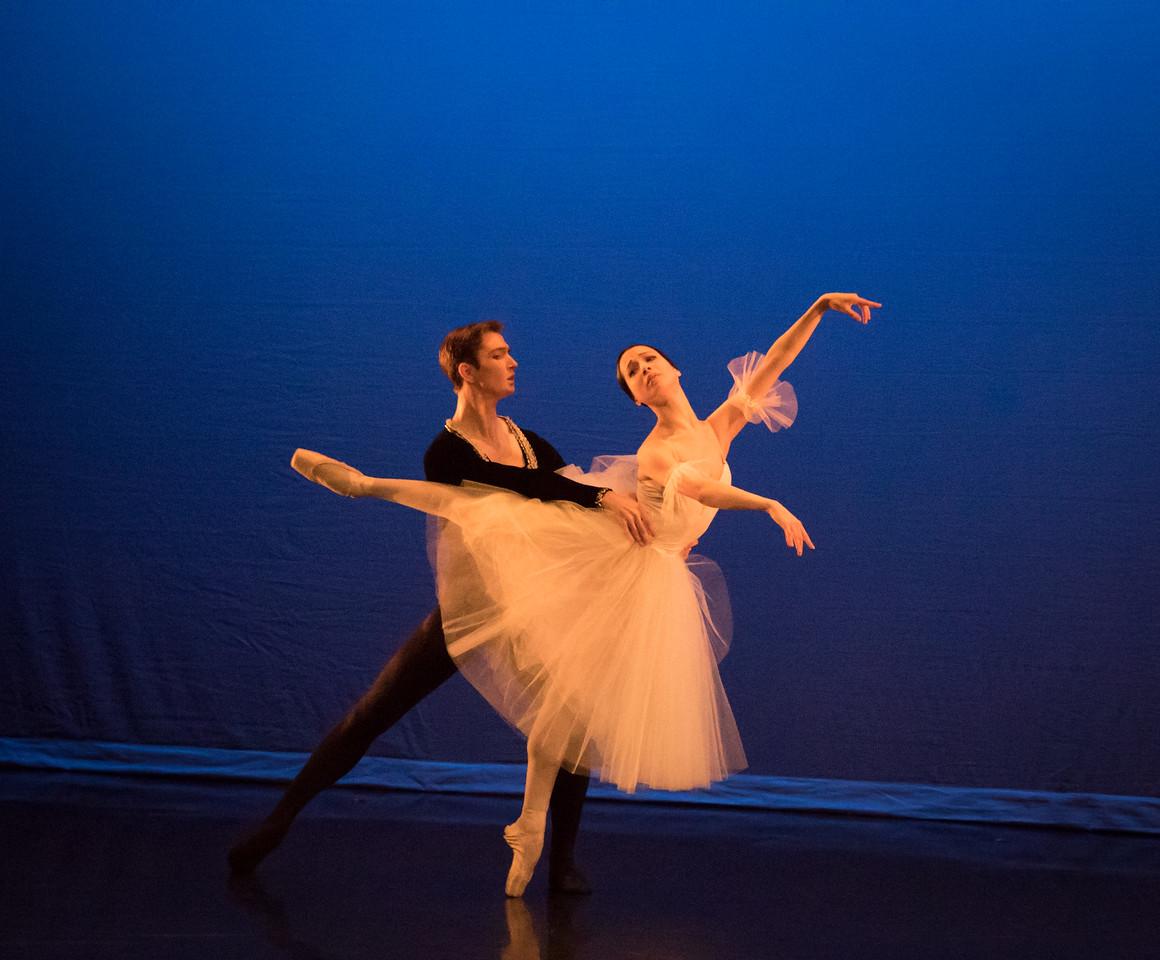 Andrii Ishchuk and Gloria Benaglia, Ellison Ballet, May 20, 2016