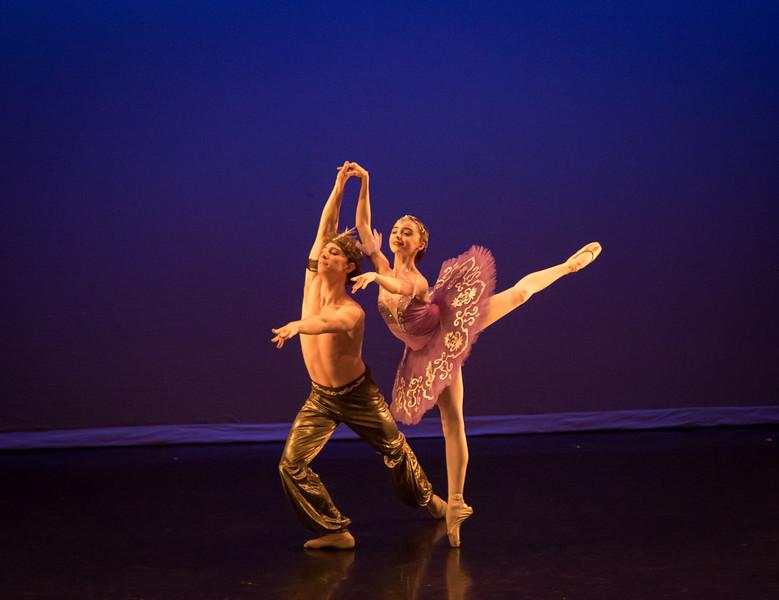 Viola Pantuso and Michael Paradiso, Le COrsaire, Ellison Ballet, May 19, 2017