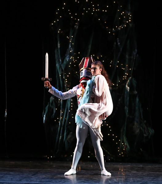 Michelle Katcher and Johnny Almedia, Gelsey Kirkland Ballet Nutcracker