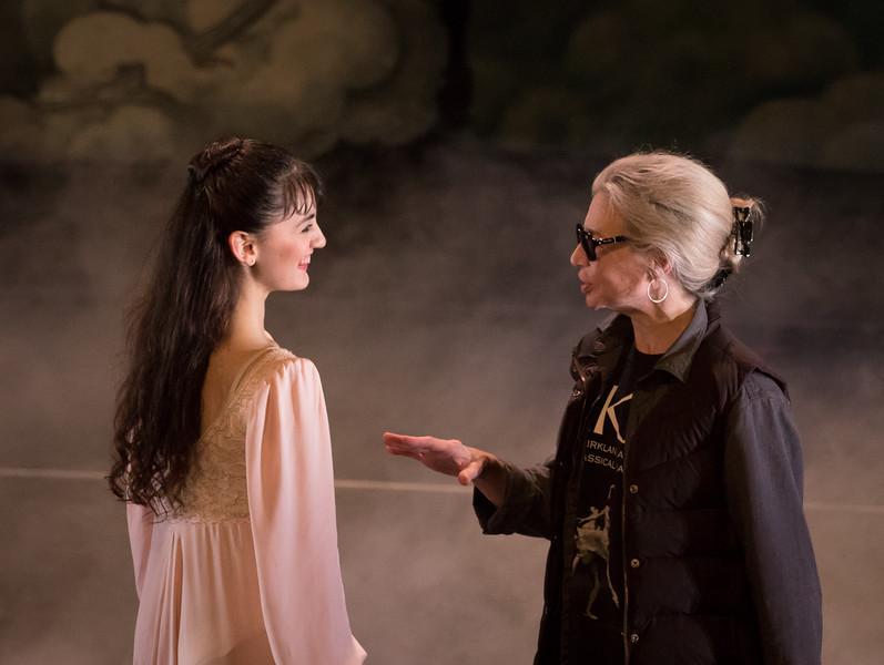 Sabina Alvarez and Gelsey Kirkland, Gelsey Kirkland Ballet, Nutcracker, December 2015