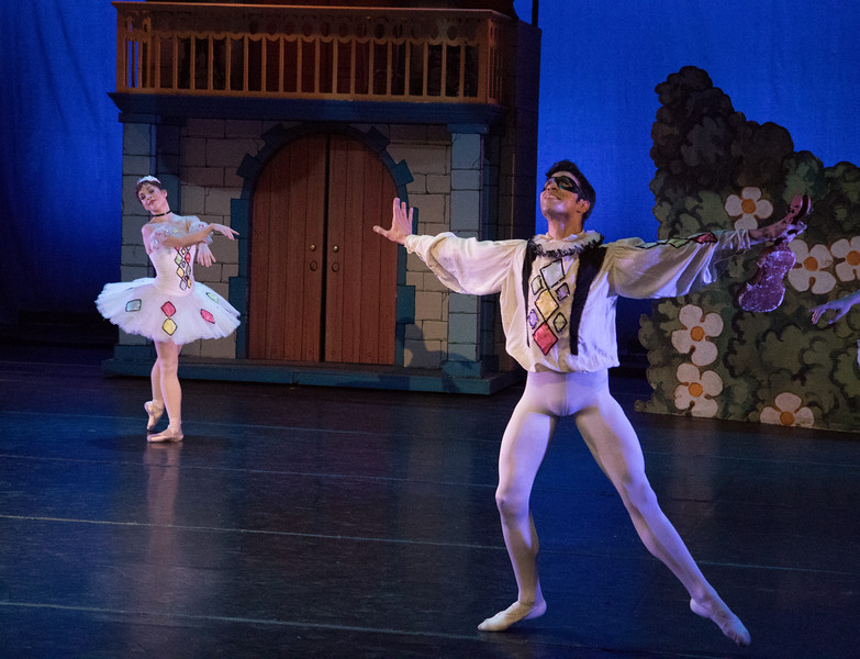 Dawn Gierling, Johnny Almedia, Harlequinade, Gelsey Kirkland Ballet, May 21, 2016